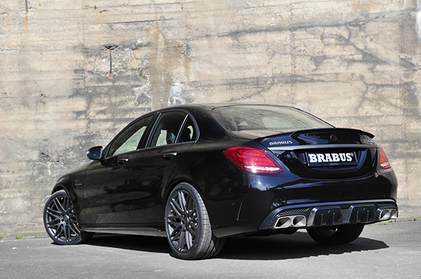 BRABUS program for the new Mercedes C 2