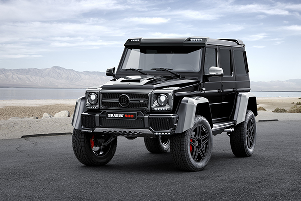 BRABUS refines the Mercedes G 500 4x4 1