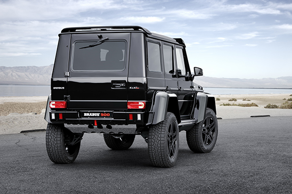 BRABUS refines the Mercedes G 500 4x4 2