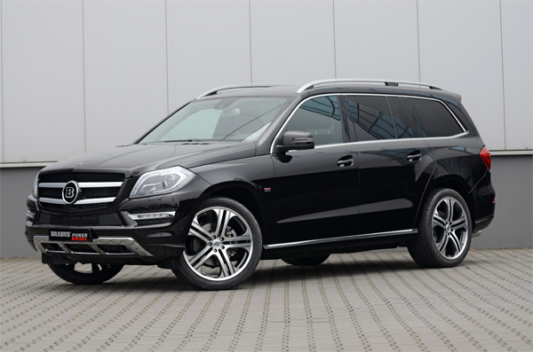 BRABUS tuning program for the Mercedes GL-Class 01