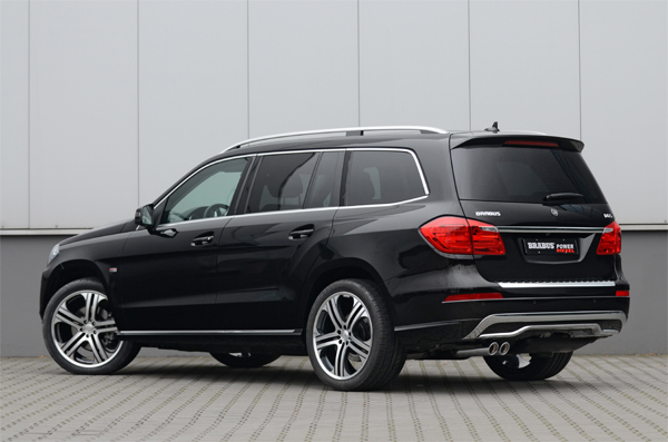 BRABUS tuning program for the Mercedes GL-Class 02