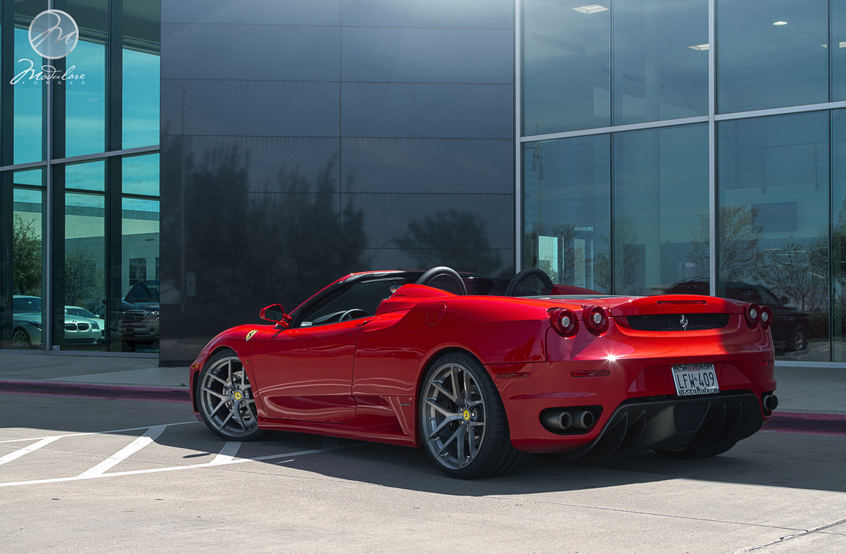 Bmw Dallas >> Modulare Wheels + Ferrari F430 Spider - Wheel Experts